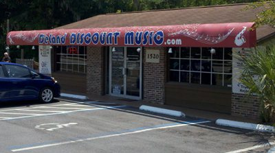 DeLand Discount Music Storefront Photo