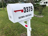 Front Mailbox